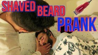 SHAVED HIS BEARD WHILE SLEEPING PRANK!! (My Revenge)