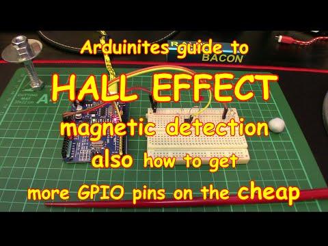 #55 Using a Hall Effect Magnetic Sensor