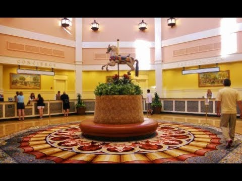 Walt Disney World's Saratoga Springs Spa and Resort