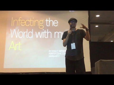 Artgerm's Pre-Workshop AsiaPOP Comicon Manila 2017 | FlipGeeks