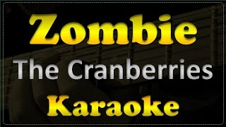 The Cranberries - Zombie - Acoustic Guitar Karaoke # 1