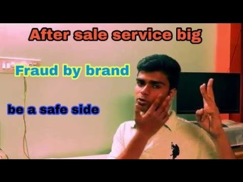 After sale services Fraud How be a safe side
