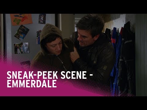 Emmerdale spoilers: Cain confronts Matty Barton - watch the scene