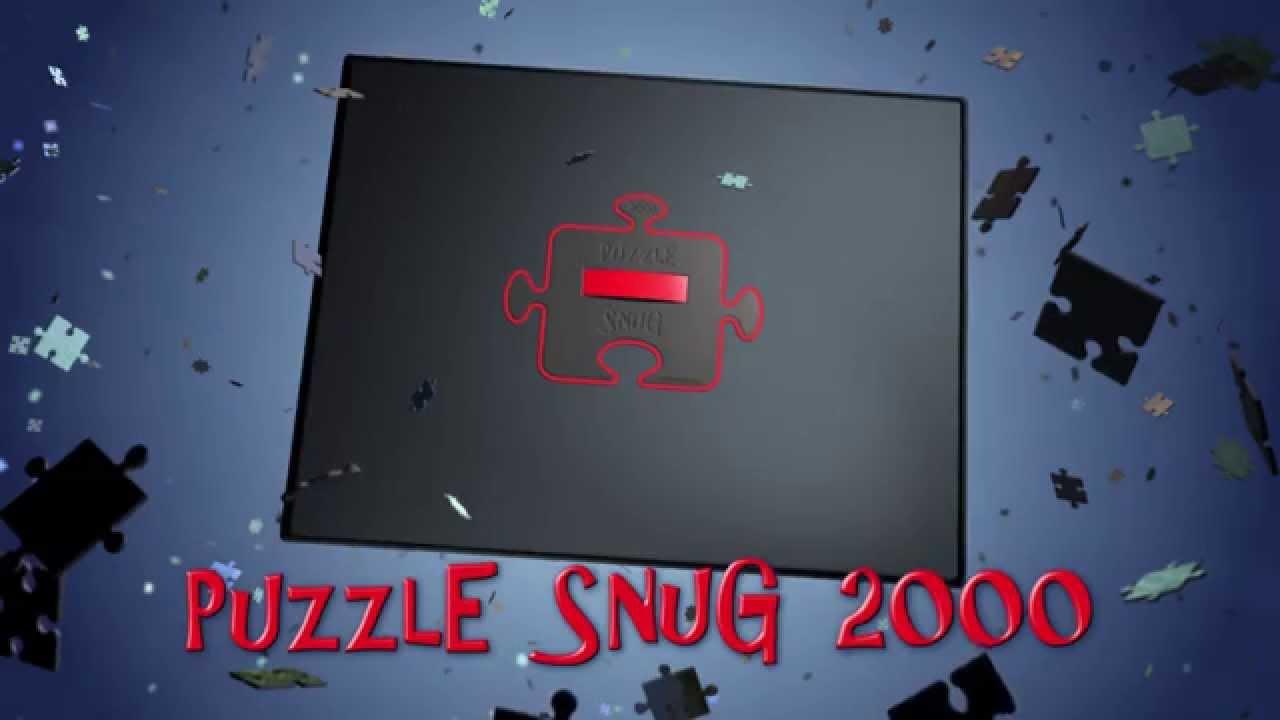 Puzzle Snug 2000 Jigsaw Storage Carrier Youtube