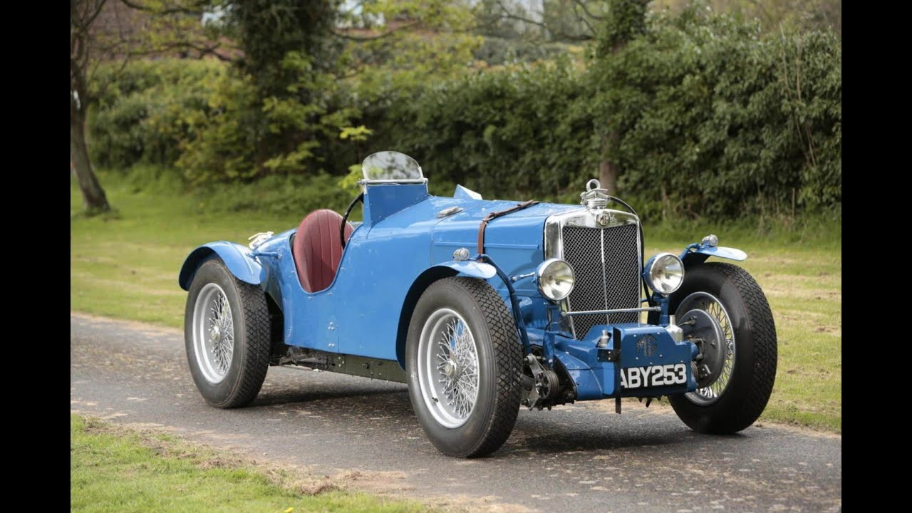 1934 Mg Magnette Racing Special Youtube