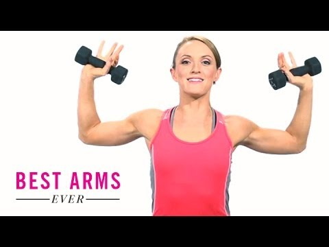 Get Sexy Summer Arms, Now: Workout with Hannah Davis, Ep. 2