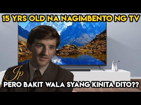 Ang Kasaysayan Ng TV. Kung Paano Naimbento Ito. PHILO FARNSWORTH STORY