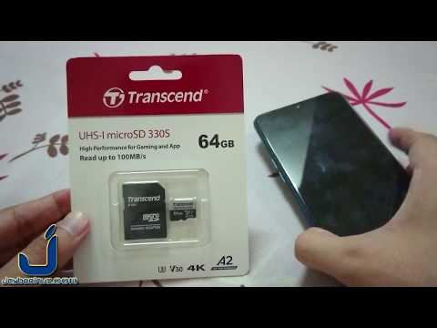 Review Of Transcend MicroSDXC 330S UHS-I Class 10 V30 - 64GB