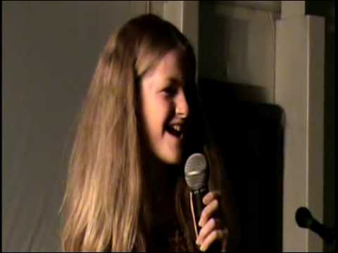 FOUR DAYS LATE - ASTONISHING  SINGER 10 Years Old - Mckenzie George 2nd song Blood Bought My Freedom
