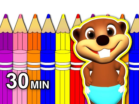 Back 2 School Special | 30 Minute Kids Learning Video, Kinde