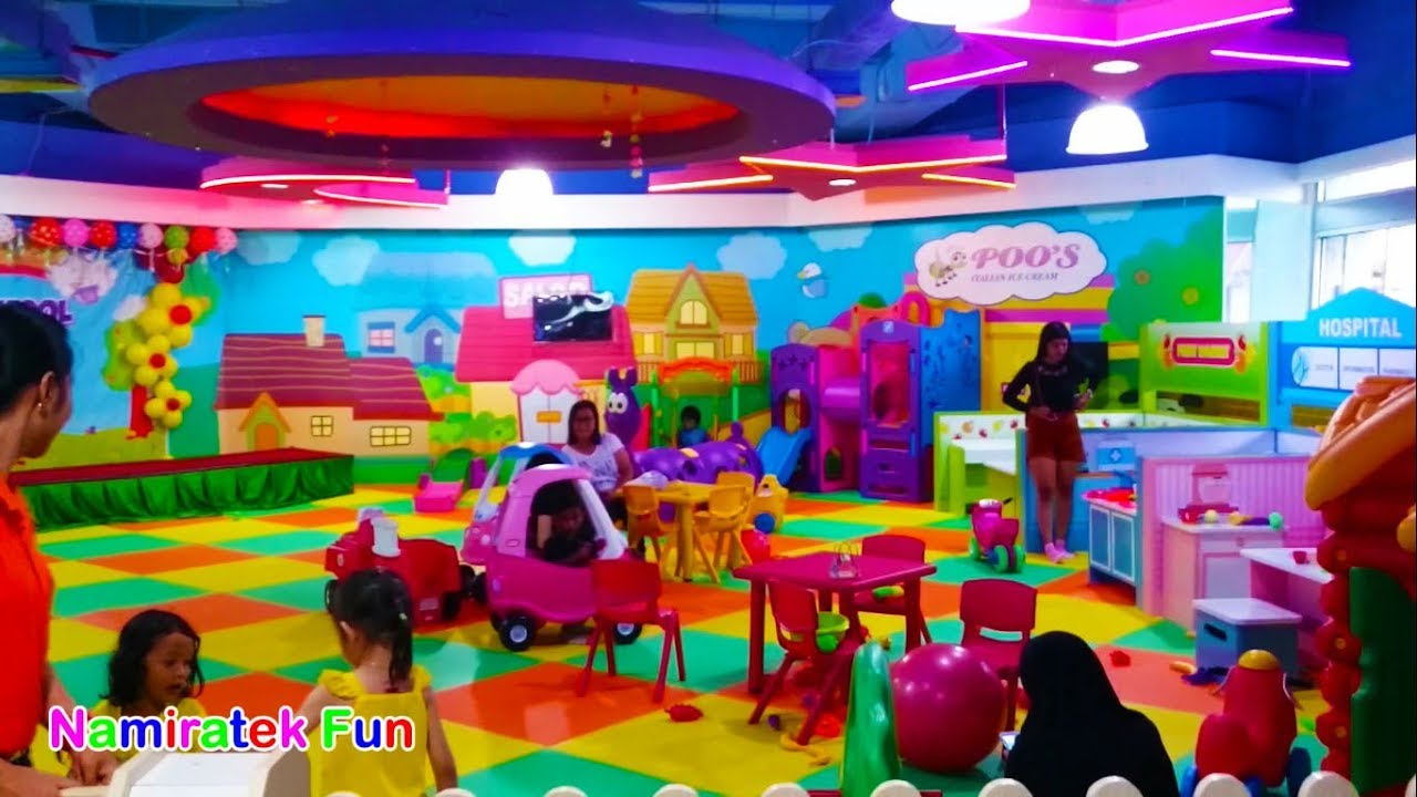Bermain Mainan Anak Main Balon Bola Anak-Anak di Mall - Playing Kids Pool  Fun Balls Playground