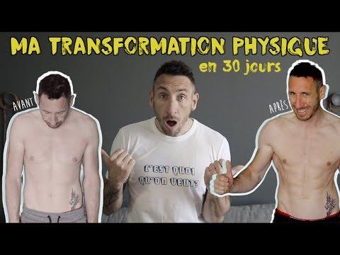 Ma transformation physique en 30 jours - Frank Cotty