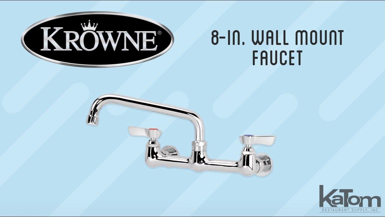 krowne 8 in wall mount faucet 381 12808l