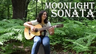Beethoven - Moonlight Sonata (guitar cover) with FREE TAB!