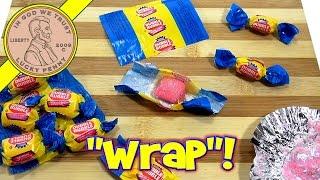"""Dubble Bubble Gum Maker! (Revisit) LPS-Dave """"Wraps"""" On Camera!"""