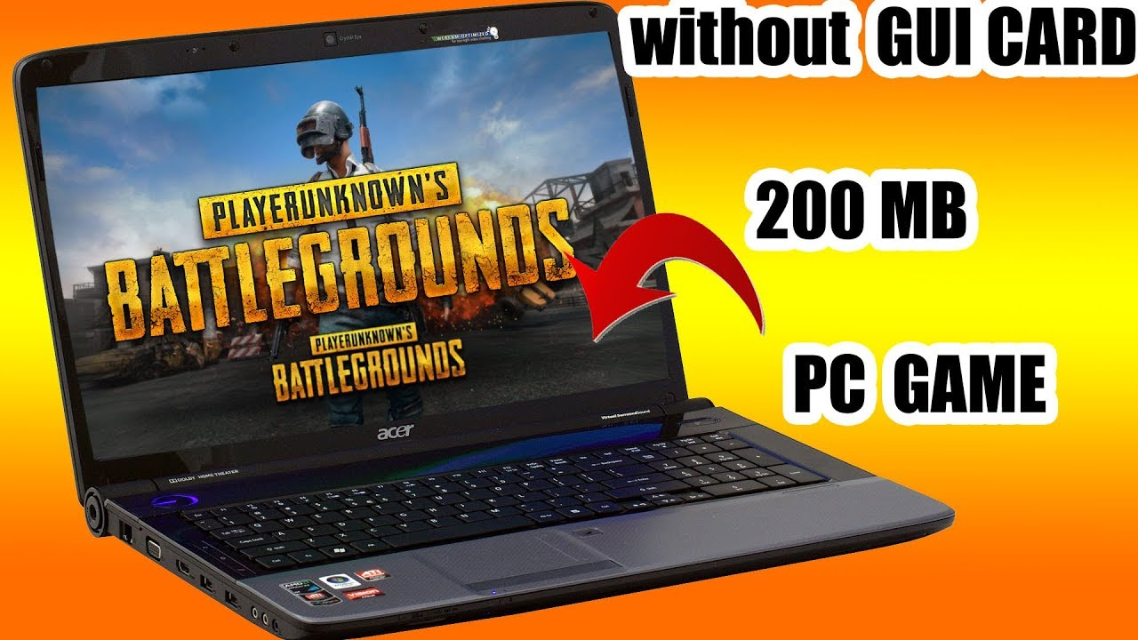 PUBG ON ANY PC How to play PUBG Game without graphics card Best Settings PC  Tencent Buddy Lag Fix
