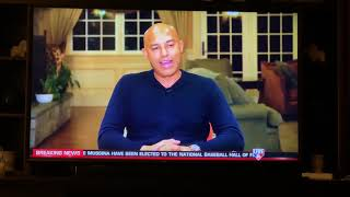 Mariano Rivera talks to mlb network after being elected to hall of fame