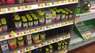 Shopping For My Favorite Vitamins And Supplements At Wal Mart