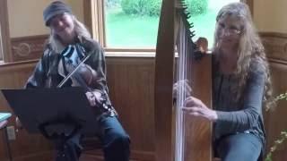 Our friends Morgan & Suzanne known as Oakstrings Celtic Harp & Fidd...