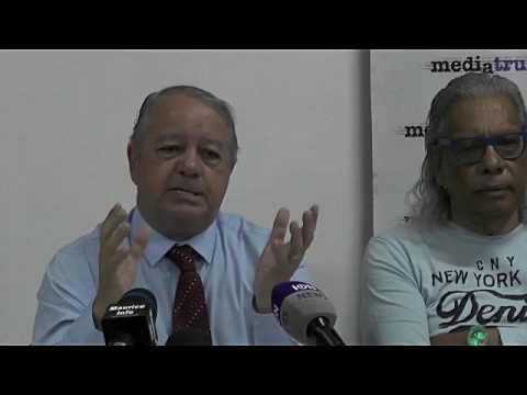Maurice Info - Conférence de presse du Media Trust du  30 Juin 2017