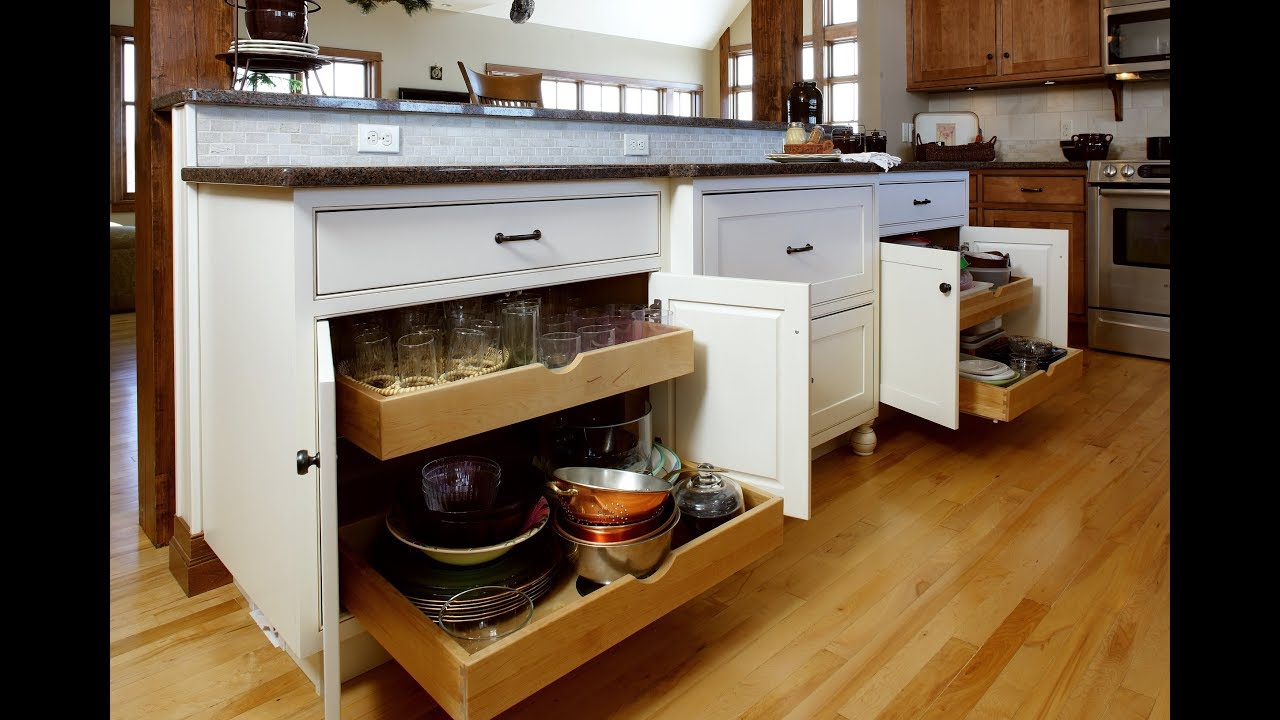 Kitchen Design Ideas: Cabinet Organization Features - Home Channel TV