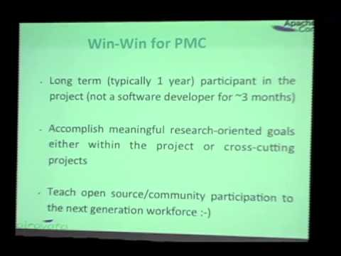 Apache Student Induction: Catalyzing Collaborative Student Research Projects