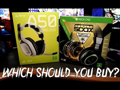 Which To Buy: Astro A50 Vs Turtle Beach Stealth 500x Xbox One Gaming Headsets