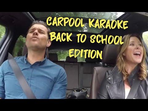 Carpool Karaoke Edu Back to School Edition