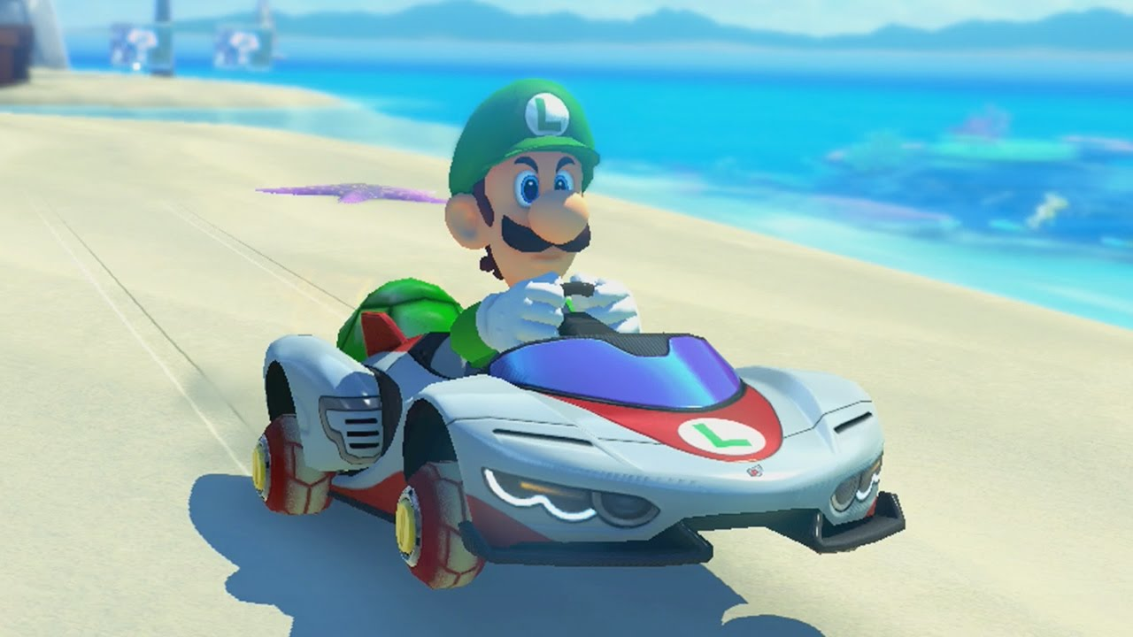 mario kart 8 grand prix 150cc shell cup youtube