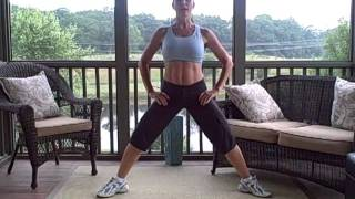 Pregnancy Exercise - Legs in the morning