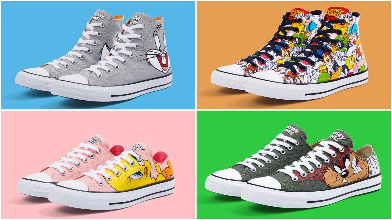 Introducing The Converse Looney Tunes Chuck Taylor Collection