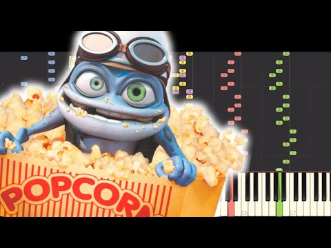IMPOSSIBLE REMIX - Crazy Frog - Popcorn - Piano Cover