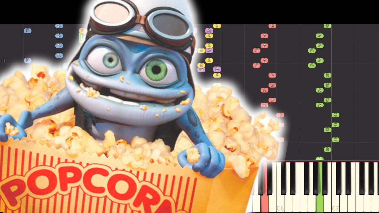 Impossible Remix Crazy Frog Popcorn Piano Cover