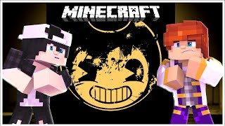 BENDY AND THE INK MACHINE KILLS RAVEN, LITTLE CARLY AND LEO? | Minecraft Custom Modded Roleplay
