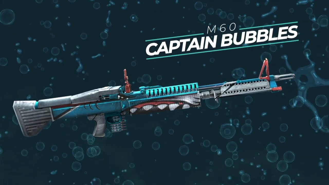 Weapon Royale: Captain Bubbles M60