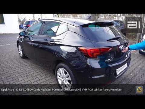 Opel Astra - K 1.6 CDTI Dynamic NaviCam 900 InteliLink Lenk/SHZ V+H AGR Winter-Paket Premium