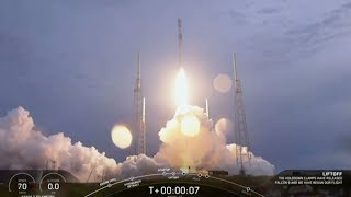 SpaceX launches Falcon 9 rocket carrying communications satellite