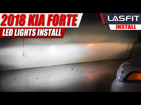 2018 2017 Kia Forte | How to install LED headlight bulb Turn Signals Backup light…