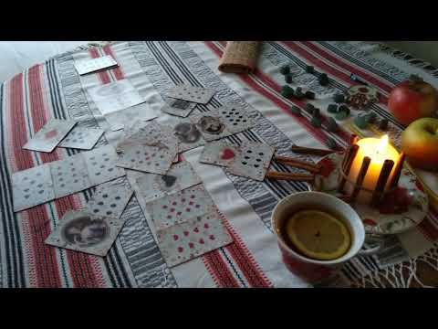 Цыганский расклад на ♥️ Даму 👸 Ближайшее будущее. Гадание от Никки Ами #цыганскийрасклад #никкиами
