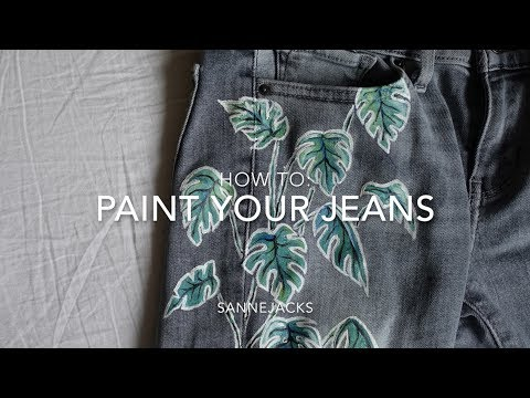 How To: Paint Your Jeans thumbnail
