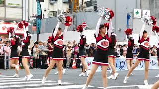 2019 うえの夏まつりパレード 武蔵野高校マーチバンド部