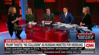 CNN: Rosenstein Gave Himself, Mueller 'Political Cover' With Indictment Announcement