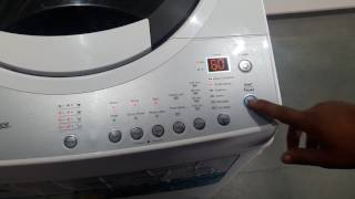 how to use ifb 6.5 kg top load washing machine model TL65RDW full demo
