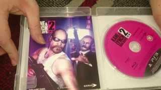 Nostalgamer Unboxes Kane And Lynch Dog Days Limited Edition On Sony Playstation 3 UK PAL System