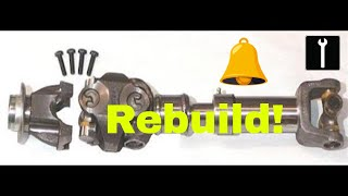 Video How to rebuild double cardone joint (ALL MAKES AND MODELS) - steps in discription. download MP3, 3GP, MP4, WEBM, AVI, FLV Juni 2018