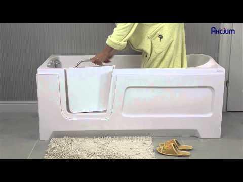 AKCJUM: Ванны для инвалидов и пожилых людей