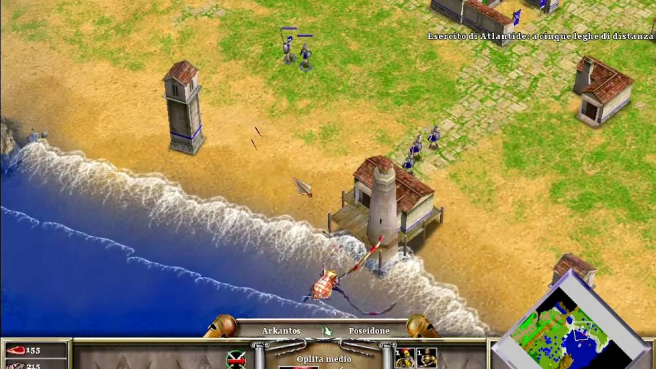 age of mythology ita