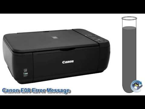 What is the Canon E08 Error Message?