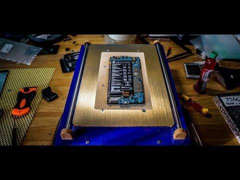 LG X Power (K220DS). Замена дисплейного модуля (восстановление после воды)