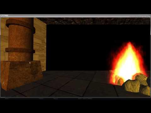 Unity Cave VR demo
